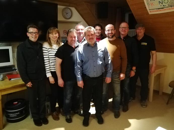 Der neue Vorstand der FFW Appersdorf
