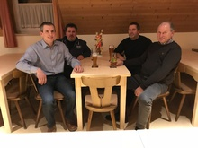 Archus Neumayer, Thomas Geier, Günther Stehr und Georg Singerl (v.l.)